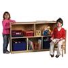 """ECR4Kids Birch  30"""" Storage Cabinet - 5 Compartments"""
