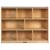 "ECR4Kids Birch  36"" Storage Cabinet - 8 Compartments"