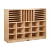 Birch Multi-Section Storage Cabinet