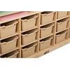 ECR4Kids Multi-Section Storage Cabinet w/ 15 Bins - SD