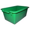 Scoop Front Storage Bins - Green, set of 10