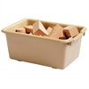 Scoop Front Storage Bins - Sand, set of 10