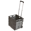 MemoryStor Universal Rolling Cart Brown Box