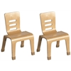 "16"" Bentwood Chair - Natural, set of 2"