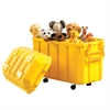 Stackable Storage Trunk - Yellow, set of 4