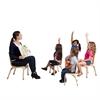 """ECR4Kids 12"""" Bentwood Teachers Chair - Natural, set of 2"""