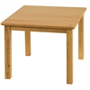 "ECR4Kids 24"" Square Hardwood Table with 18"" Legs"