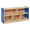 "ECR4Kids CE 5 Compartment Storage Cabinet 24""H - BL"