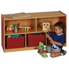 "CE 5 Compartment Storage Cabinet 24""H - RD"