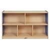 "ECR4Kids CE 5 Compartment Storage Cabinet 30""H - BL"
