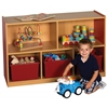 "CE 5 Compartment Storage Cabinet 30""H - RD"
