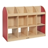 Colorful Essentials 2-Sided Standard Book Stand - Red
