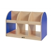 ECR4Kids CE 2-Sided Toddler Book Stand - Blue