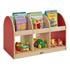 ECR4Kids CE 2-Sided Toddler Book Stand - Red