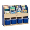 CE Single-Sided Standard Book Stand - Blue