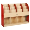 ECR4Kids CE Single-Sided Standard Book Stand - Red