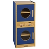 ECR4Kids Colorful Essentials Play Washer/Dryer - Blue