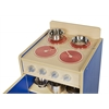 Colorful Essentials Play Stove - Blue