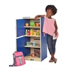 ECR4Kids Colorful Essentials Play Refrigerator - Blue