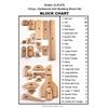 ECR4Kids Starter Building Unit Block Set, 118-Pieces