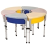 ECR4Kids 6 Station Sand & Water Play Table with Lids