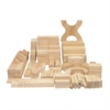ECR4Kids Classroom Unit Block Set, 170-Pieces
