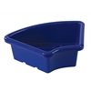 ECR4Kids Fan Tray without Lid - Blue, set of 6