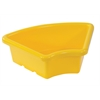 Fan Tray without Lid - Yellow, set of 6
