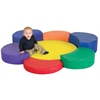 Softzone® Rainbow Petal Climber w/ Ball Pool