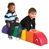 ECR4Kids Softzone® Sit & Play Rainbow Caterpillar - Lg