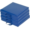 SoftZone® 4-Piece Square Carry Me Cushion -BL