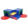 ECR4Kids Softzone® Corner Tunnel Maze