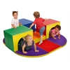 ECR4Kids Softzone® Triple Tunnel Maze
