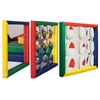 ECR4Kids SZ Soft Frame Mirror - 3pk