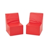 SoftZone® 2-Pack Toddler Chair - Red