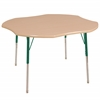 "ECR4Kids 48"" Clover Maple/Maple/Green Toddler SG"