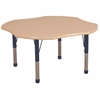 "ECR4Kids 48"" Clover Maple/Maple/Navy Chunky"