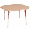 "ECR4Kids 48"" Clover Maple/Maple/Red Toddler SG"