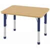 "ECR4Kids 24""x36"" Rect Maple/Maple/Blue Chunky"
