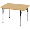 "ECR4Kids 24""x36"" Rect Maple/Maple/Navy Standard BG"