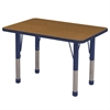 "24x36"" Rect Table Oak/Navy-Chunky"