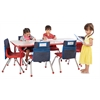 "Rect. 30""x60"" Table GRD-TB & 6-12""RD Chairs"