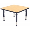 "30"" Square Table Maple/Navy -Chunky"