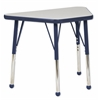 "ECR4Kids 18x30"" Trap Table Grey/Navy-Toddler Ball"