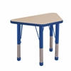 "ECR4Kids 18x30"" Trap Table Maple/Blue -Chunky"