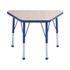 "18x30"" Trap Table Maple/Blue -Standard Ball"