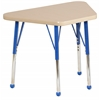 "ECR4Kids 18""x30"" Trap Maple/Maple/Blue Toddler BG"