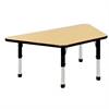 """30x60"""" Trap Table Maple/Black-Chunky"""