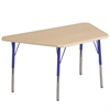 "30""x60"" Trap Maple/Maple/Blue Toddler SG"