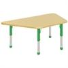 "ECR4Kids 30""x60"" Trap Maple/Maple/Green Chunky"